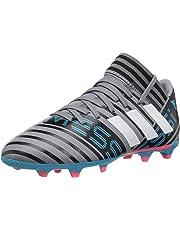 Adidas Performance Boys' Nemeziz Messi 17.3 Fg J, Grey/White/Core Black, 2 M Us Little Kid