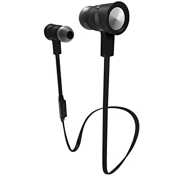 Amazoncom Sharper Image Sbt517bkbk Bluetooth Earbuds With