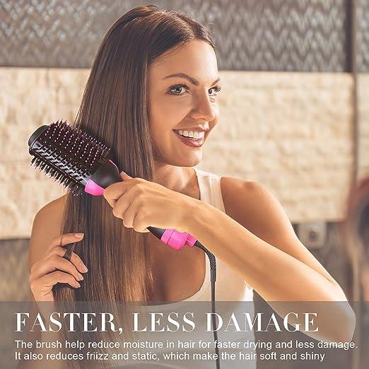 One-Step - Secador de pelo, cepillo de aire caliente, cepillo ...