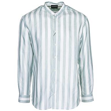 0898b496e98c Emporio Armani Chemise Homme Bianco M  Amazon.fr  Vêtements et accessoires