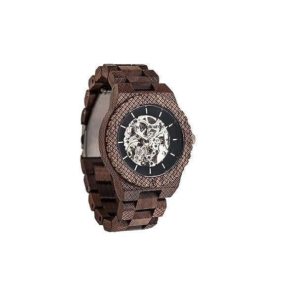 Madera Reloj Hombre   Explorer   Relojes de Madera Natural, Las Oficial Wood Watch Relojes