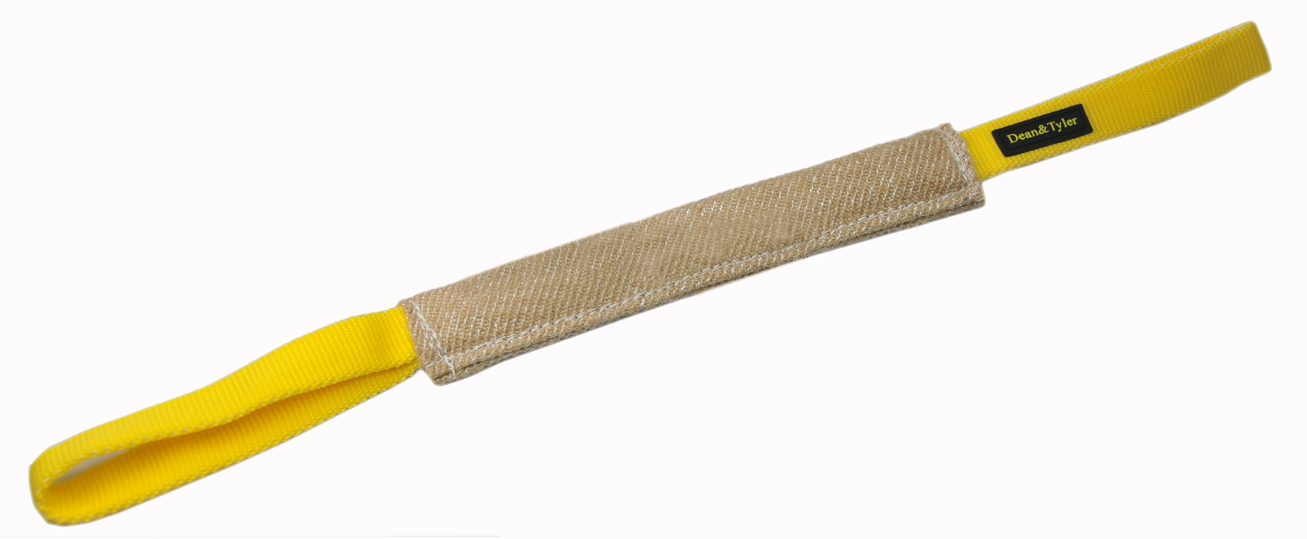 Dean and Tyler Small Pocket Bite Tug - Jute - Size: 8-Inch by 2-Inch by Dean & Tyler