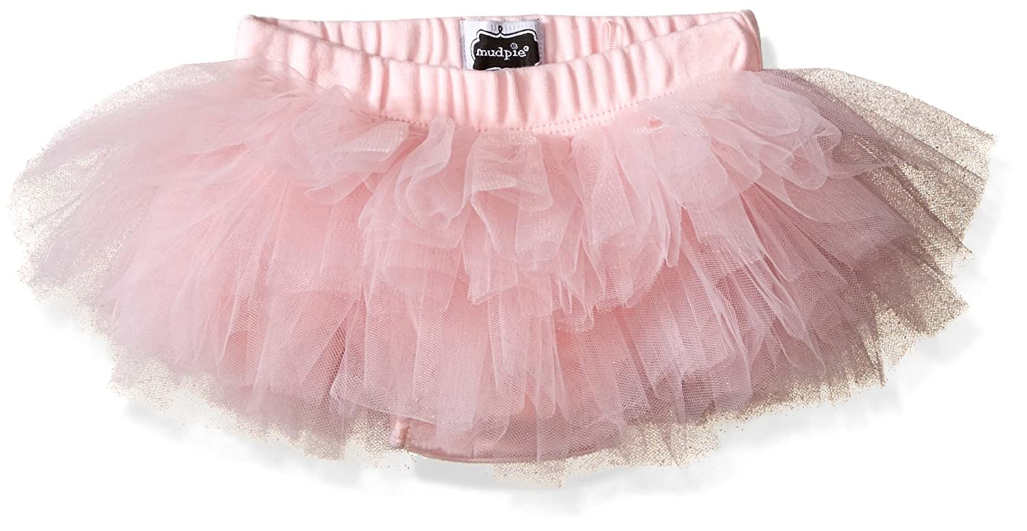 Mud Pie Baby Girls' Bloomer Mud Pie Baby Bloomer Pink Tutu 0-12 months 1172117