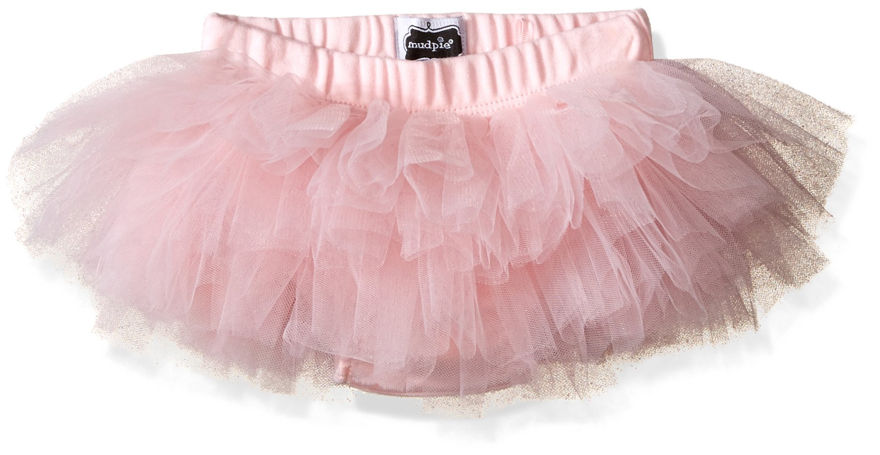 Mud Pie Baby Bloomer, Pink Tutu, 0-12 months