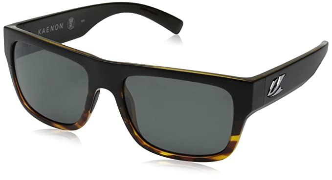 57ec4621e8 Kaenon mens Montecito Polarized Rectangular Sunglasses
