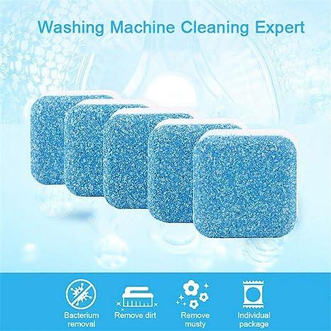 Amazon.com: 6 tabletas de limpieza de tanque de lavadora ...