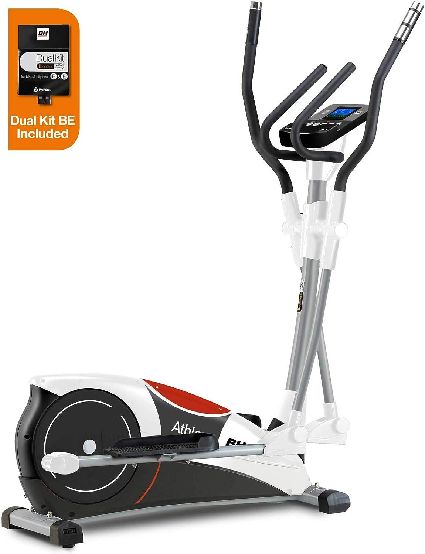 BH Fitness - Bicicleta elíptica i.athlon Dual: Amazon.es: Deportes ...