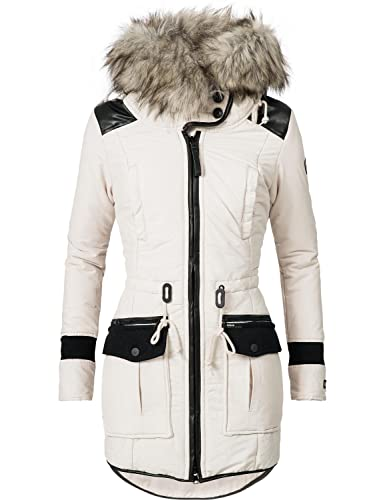Khujo Mujer Abrigo de invierno parka de invierno ym-retro BUGS 4 colores S-XXL