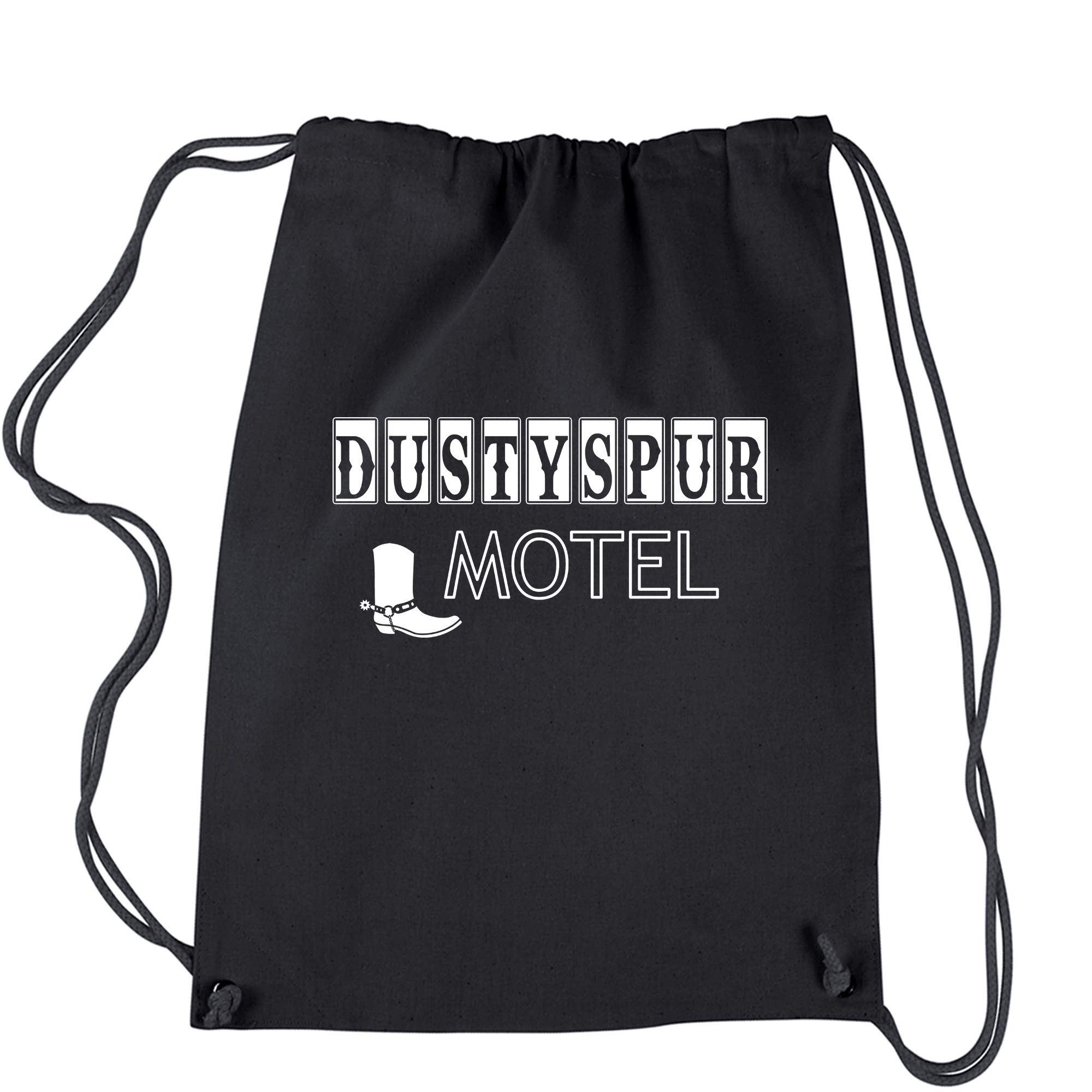 Backpack Dusty Spur Motel Womens Wrestling Black Drawstring Backpack