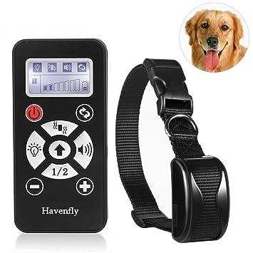 Havenfly El Mejor Collar del Entrenamiento para los perros-800yard Recargable y Collar alejado Impermeable