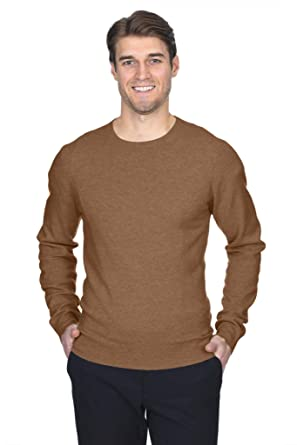 b54b35fc0 Amazon.com  State Fusio Men s Cashmere Wool Long Sleeve Pullover Crew Neck Sweater  Premium Quality  Clothing