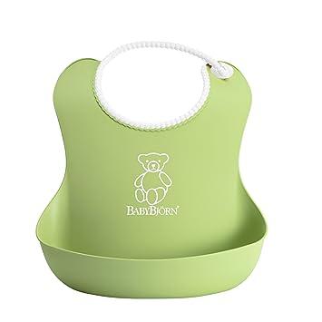 f513d9c3312 Amazon.com   BABYBJORN Soft Bib - Green   Baby Bibs   Baby