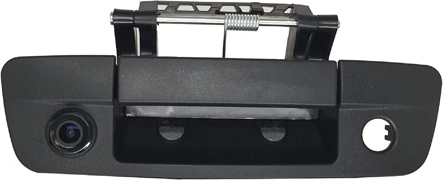 RCA 2009-2017 PYvideo Backup Camera Backup Camera with Tailgate Handle for Dodge Ram Color: Black for Universal Monitors