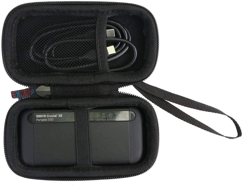 Khanka Hart Tasche Case Für Crucial X8 Portable Ssd Computer Zubehör