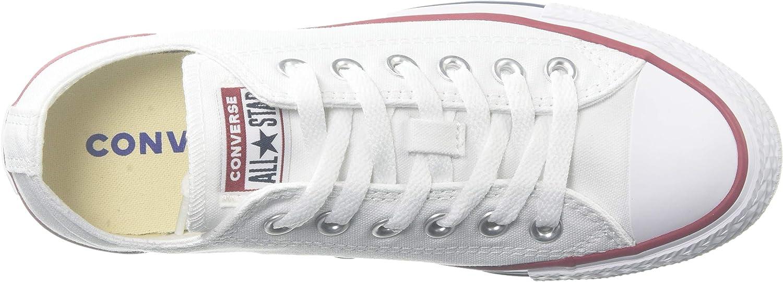 Converse Chck Taylor All Star Ox Sneaker uomo Bianco Ottico