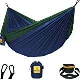 Wise Owl Outfitters Hammock Camping Double & Single with Tree Straps - USA Based Hammocks Brand Gear, Indoor Outdoor…