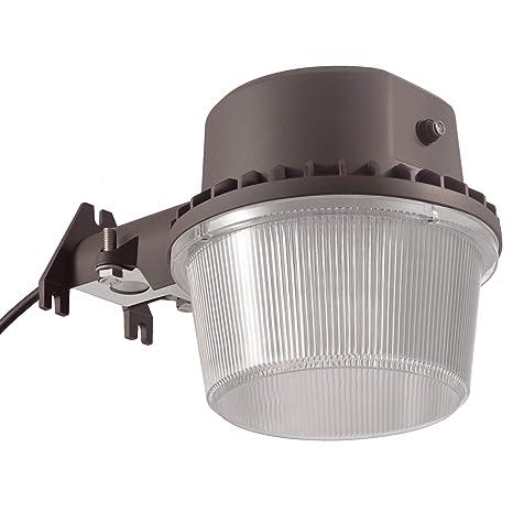outdoor light photocell street light torchstar dusktodawn led outdoor barn light photocell included 35w amazoncom