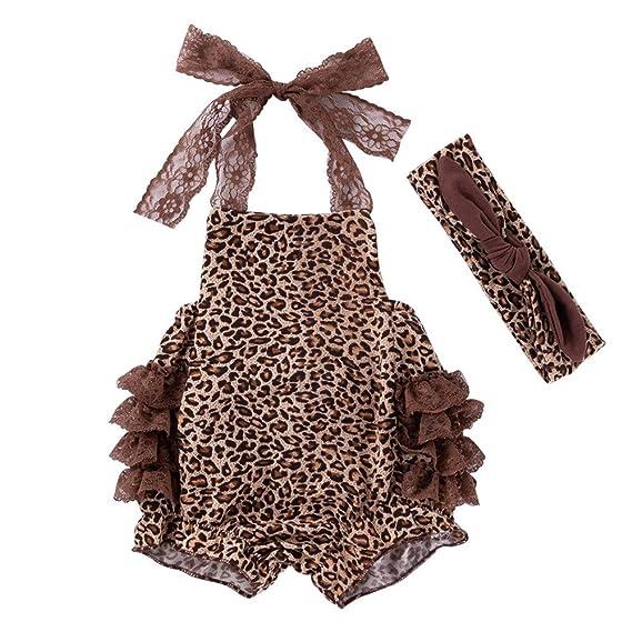 Ropa Bebe niño Invierno,(3-18M) Recién Nacido bebé niño niñas Leopard
