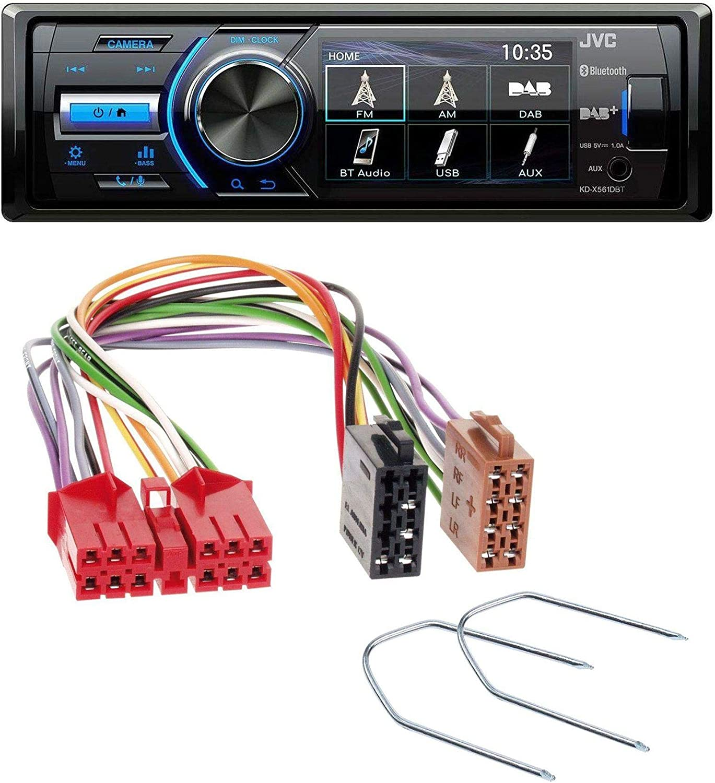 Caraudio24 Jvc Kd X561dbt Bluetooth Mp3 Usb Dab Elektronik