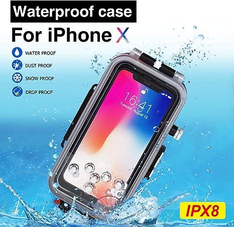 custodia subacquea per iphone x