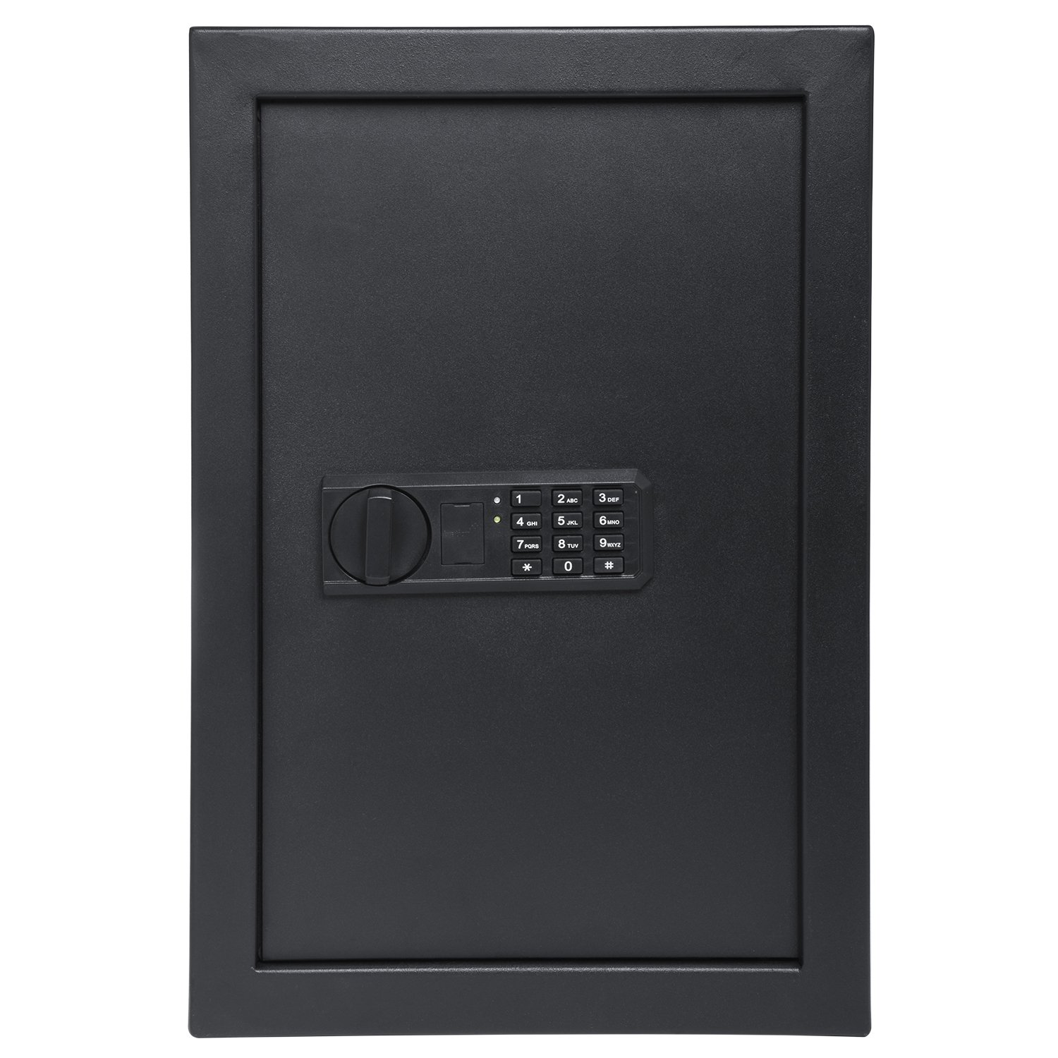 """Ivation Wall Safe, 20.6"""" x 13.8"""" x 3.7"""" Home Security Box, Backup Keys & Mounting Kit (Keypad) by Ivation (Image #1)"""