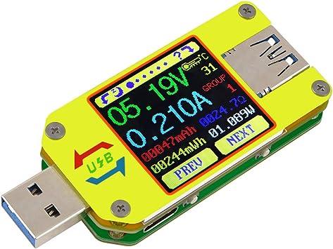 Innovateking-Eu Um34 Usb Tester Meter Voltmeter Usb Multimeter Spannung Strom Us