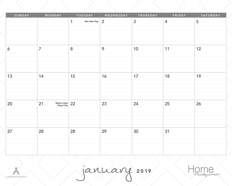 2020 Annual Calendar.18 Month Wall Calendar Jan 2019 June 2020 Annual Academic