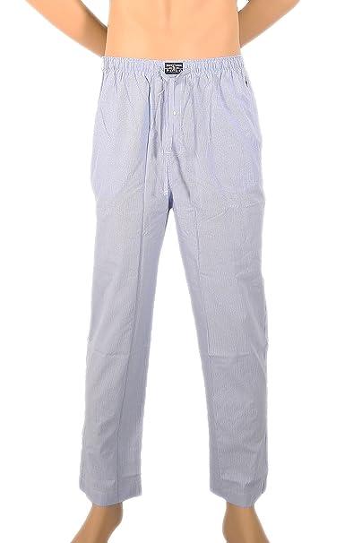 Polo Ralph Lauren - Pantalón de Pijama - para Hombre Hellblau Mini Karo Small