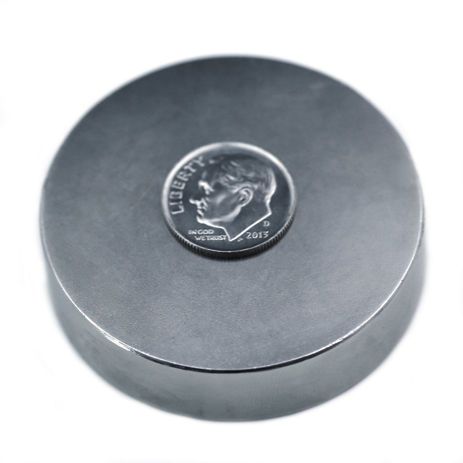 Applied Magnets 2'' x 1/2'' Grade N42 Neodymium Disc Magnet