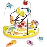 Janod - J08091 - Looping Puzzle Fruits Et Légumes 6 pcs