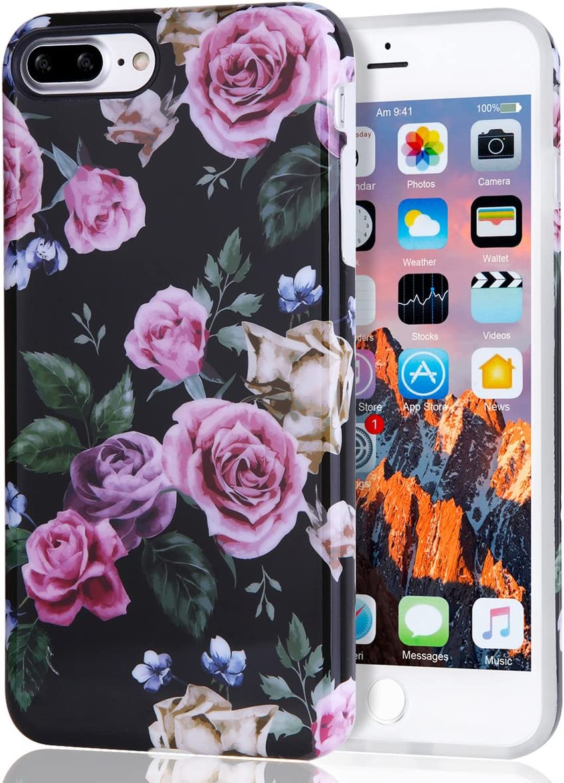 Amazon Com Floral Iphone 7 Plus Case For Girls Iphone 8 Plus