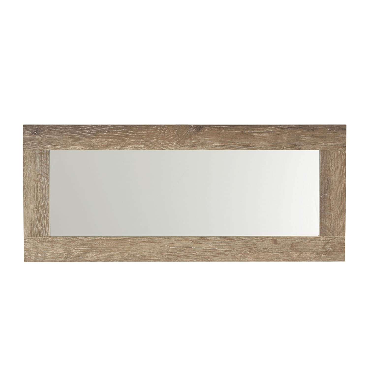 Household Essentials 8078-1 Ashwood Rectangular Wall Mirror