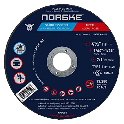 Amazon Norske Tools Nap220 4 12 X 564 X 78 Taper Cut