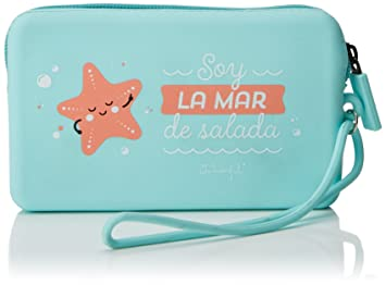Mr. Wonderful Soy La Mar De Salada Monederos, 19 cm, litros, Verde: Amazon.es: Equipaje
