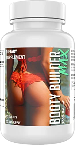 Booty Builder Max Enhancement Pills Bigger and Firmer Glutes – Butt Lift Saw Palmetto
