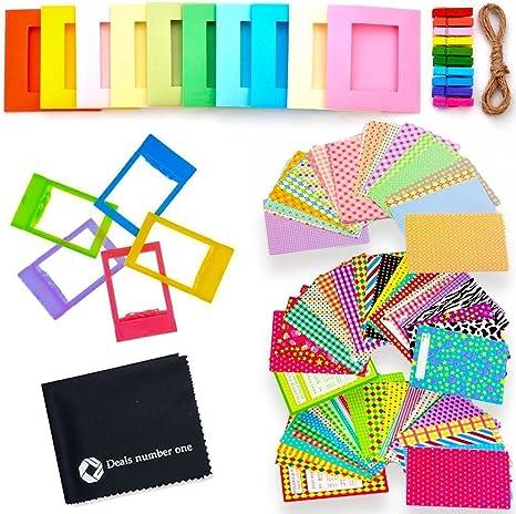 5 en 1 Colorful Bundle Kit de Accesorios para Fujifilm Instax Mini ...