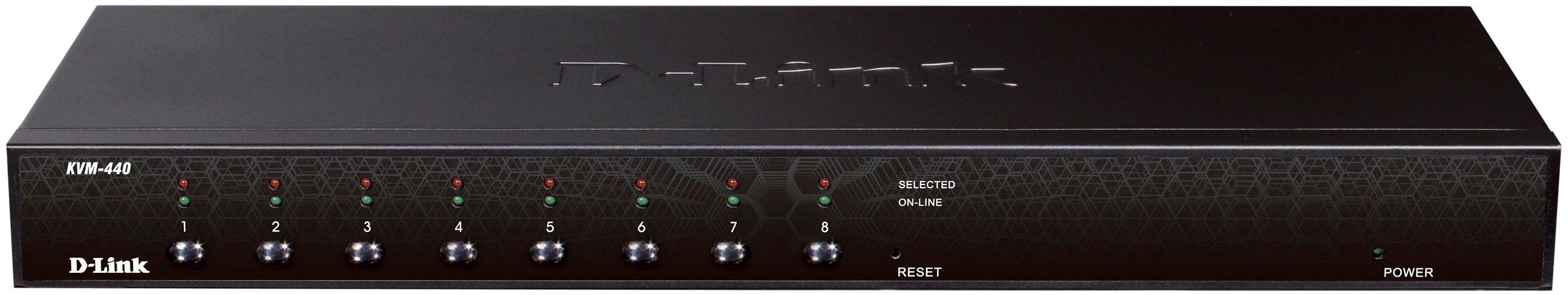 D-Link Systems, Inc. KVM-440 8-Port PS2/USB Combo KVM Switch
