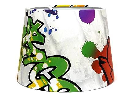 Graffiti ou Abat-Jour Abat Jour Lustre 24 double usage ou Abat-jour ...