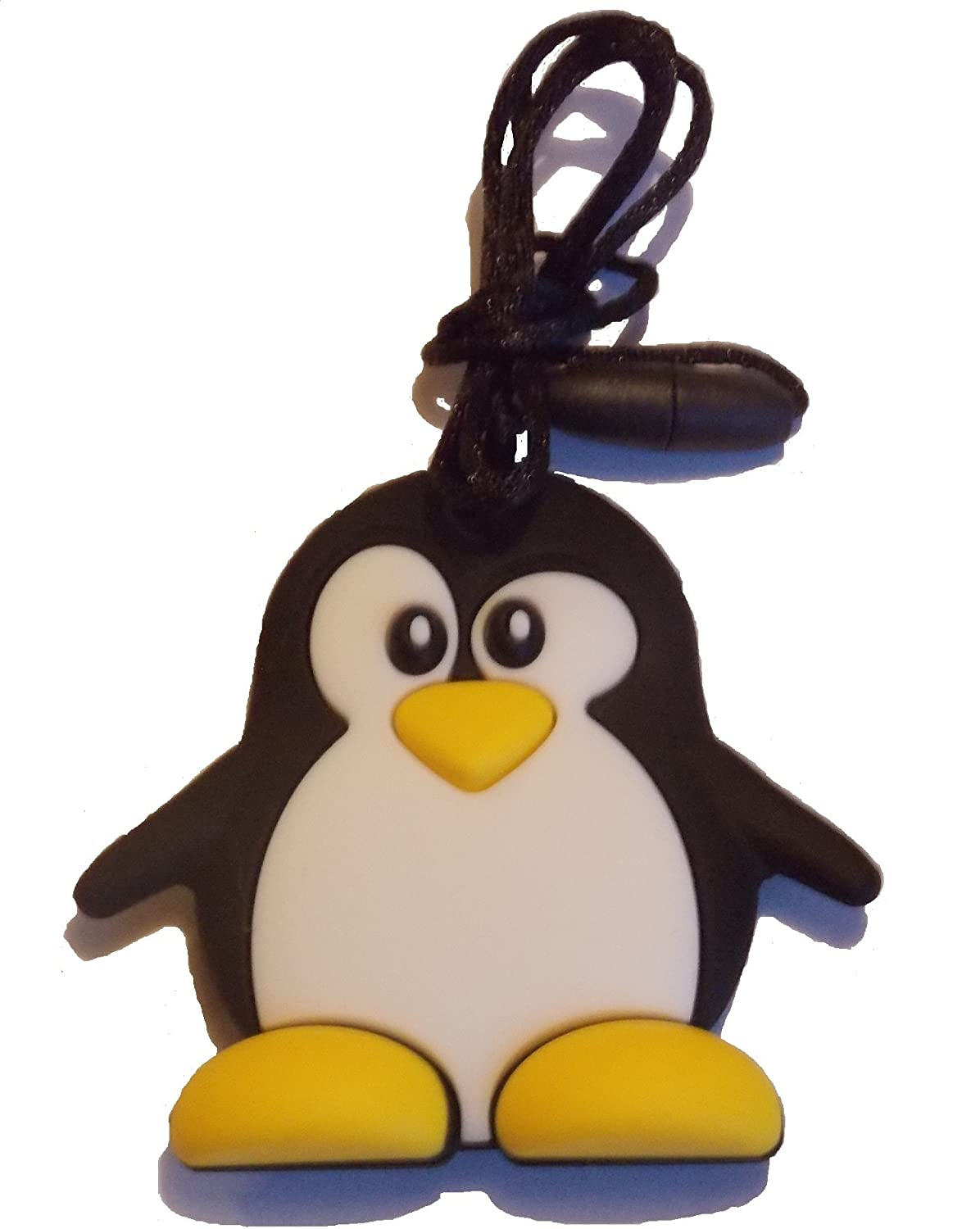 ChuChumz Chewelry Sensory Chews For Children With Autism ADHD Who Need To Chew Bite or Fidget Penguin Chewy Necklace Aids Concentration Safe Stop Biting Toys That Work