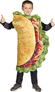 Fun World Taco Costume for Children - One Size  sc 1 st  Amazon.com & Amazon.com: McDonald Child Big Mac Cheeseburger Halloween Costume ...