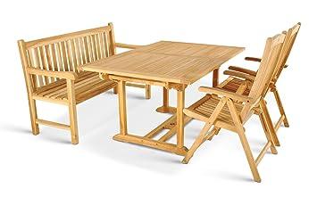 XXS ® cuba meuble de salon de jardin comprenant 6 chaises pliantes ...