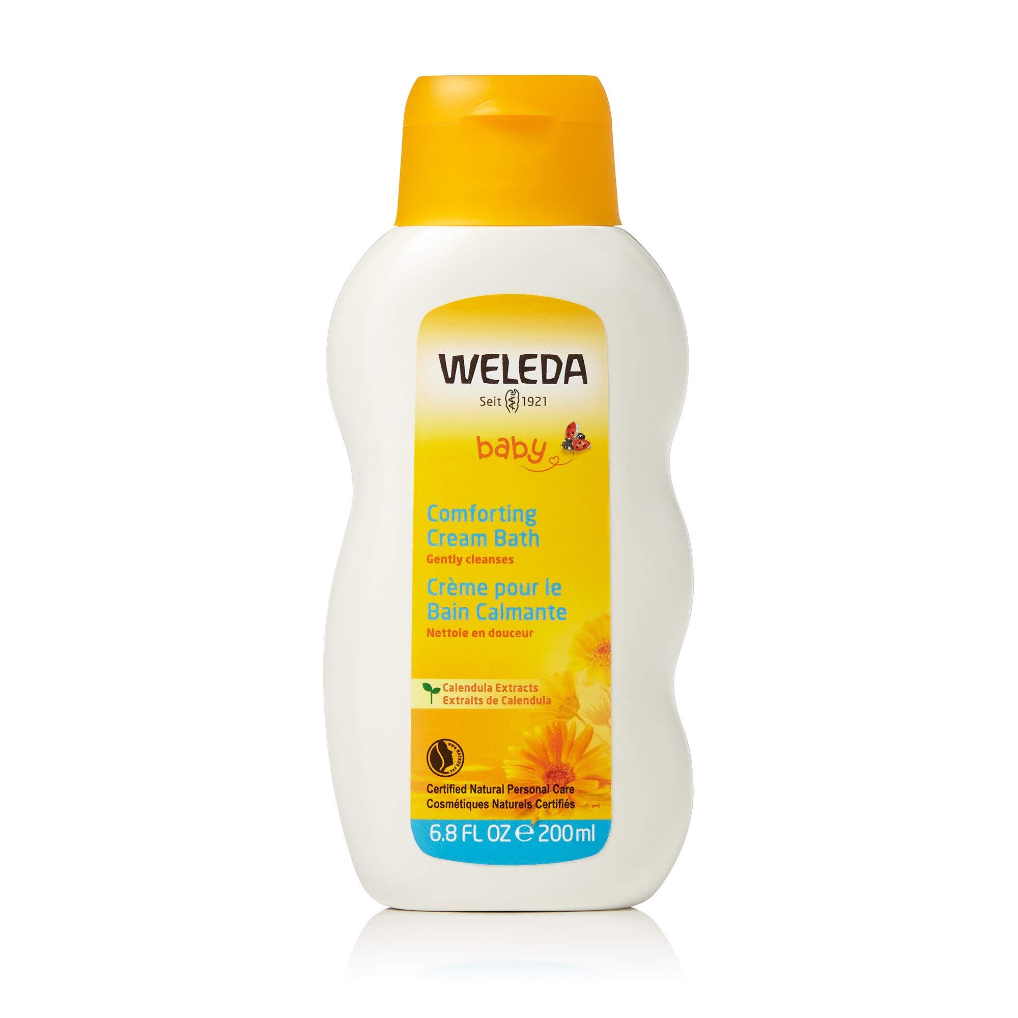 Weleda Calendula Baby Cream Bath, 6.8 Fl Oz