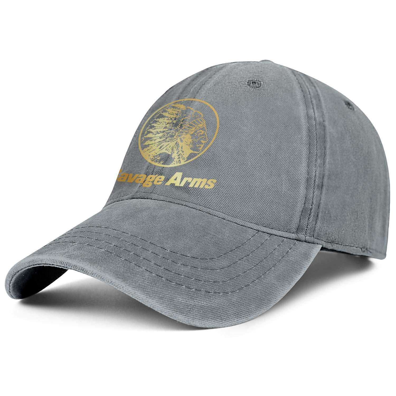 Savage-Arms-Company-Flash-Gold Hat Denim Flex Fit Strapback Hats for Men Work Hats for Men