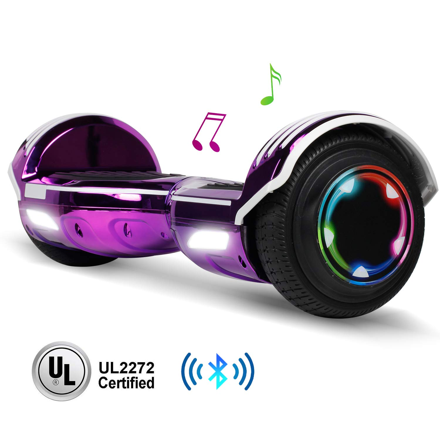 jolege 6.5'' Hoverboard for Kids Two-Wheel Self Balancing Electric Scooter Hover Board - UL2272 Certified by jolege
