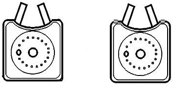 BEHR HELLA SERVICE 8MO 376 778-031 Radiador de aceite, aceite motor