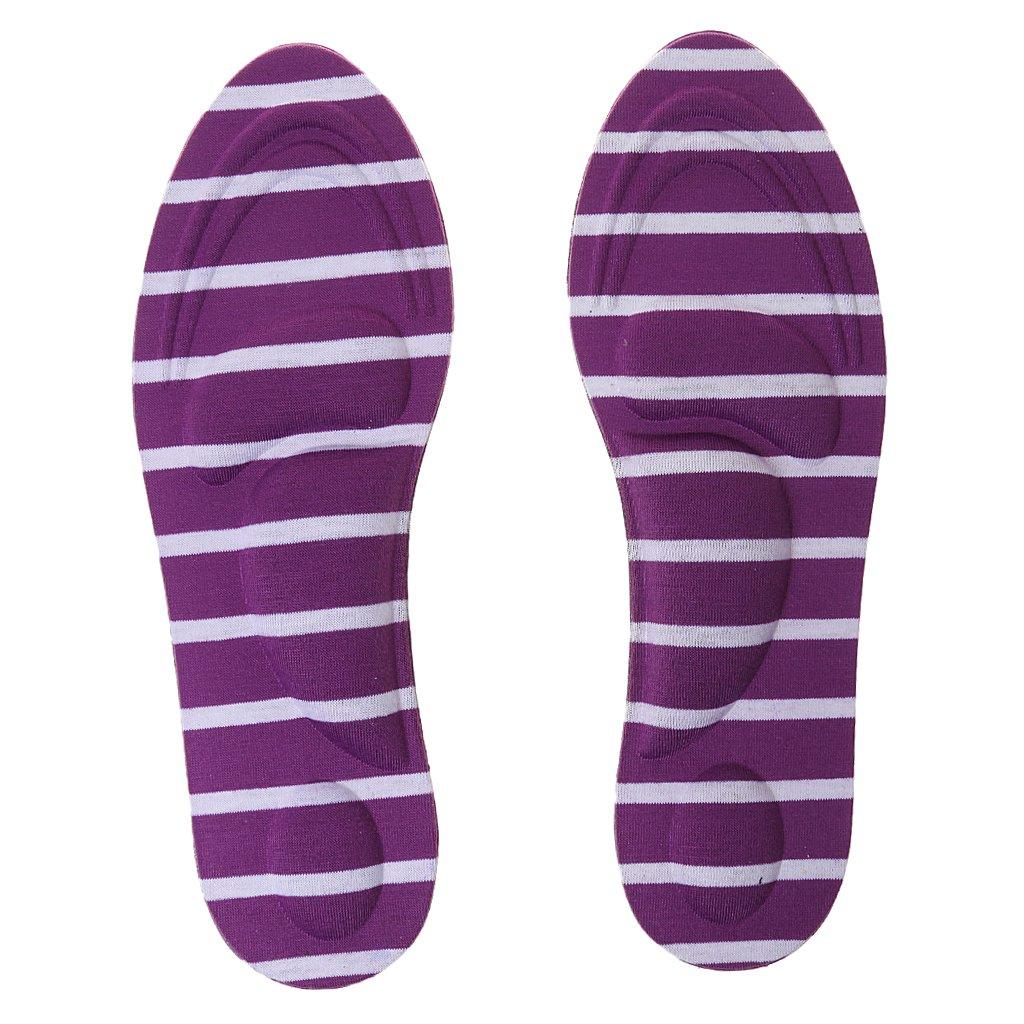 Jili Online Various Colors Comfort Sponge Pain Fatigue Relief Arch Support Massage Insoles Pads Shoe Inserts