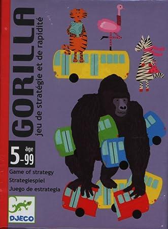 Djeco Juegos de Cartas Gorilla DJ05123: Amazon.es: Juguetes ...
