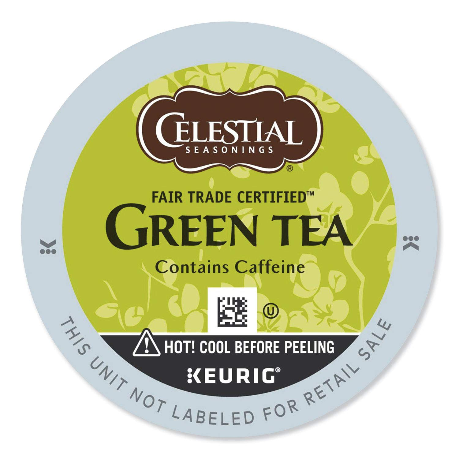Celestial Seasonings Authentic Green Tea, K-Cup Portion Pack for Keurig K-Cup Brewers, 24-Count