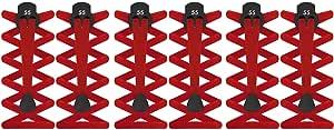 55 Sport® - Cordones elásticos planos con cierre