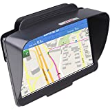TFY GPS Navigation Sun Shade Visor for Garmin nüvi 2797LMT 7-Inch Portable Bluetooth Vehicle GPS and other 7-Inch GPS